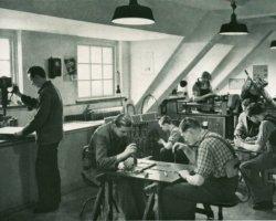 Lehrlingsausbildung bei der Schleswag in den 1950er Jahren