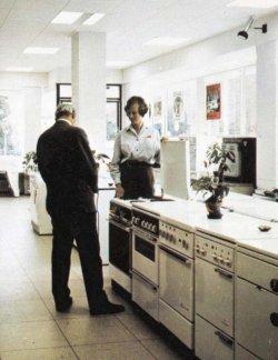 Eine Aufgabe die sich überholt hat: bis in die 1990er Jahre warb die Schleswag durch Informationsstellen für den Einsatz elektrischer Haushaltsgeräte