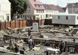 Grabung in der Schleswiger Altstadt