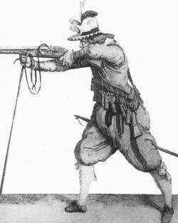 Niederländischer Soldat im 17. Jahrhundert