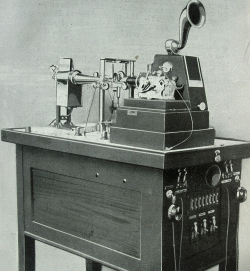 Das Echolot Behm aus einem Firmenkatalog von 1918