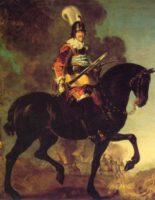 Das Bild des strahlenden Kriegshelden Christian IV. von Karel von Mander entstand 1643
