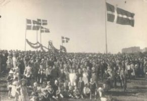 Dänisches Jahresfest in den 1920er Jahren
