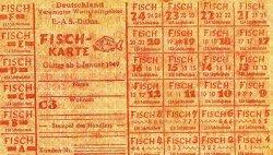 Mit Lebensmittelkarten sollte die Versorgung der Menschen organisiert werden. Theoretisch standen Erwachsenen 1.200 Kalorien pro Tag zu.