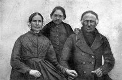 Friedrich Paulsen und seine Eltern