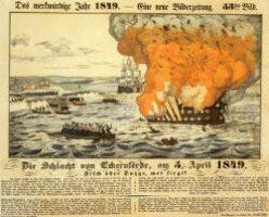 Die Explosion des Linienschiffes