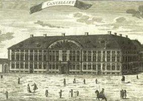 Die Deutsche Kanzlei in Kopenhagen: von diesem Gebäude aus wurden die Herzogtümer regiert
