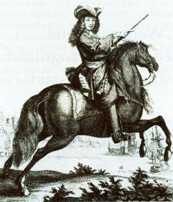Der dänische König Friedrich IV. ...