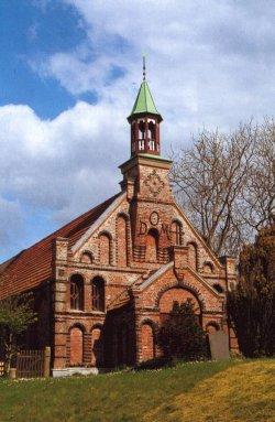 Die Kirche der Altkatholischen Gemeinde auf Nordstrand