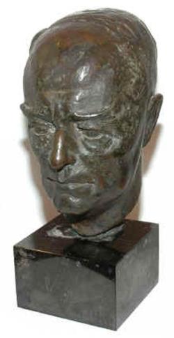 Das Siegel des neuen Institutes  Die Büste von Bernhard Harms, dem ersten Direktor des IfW