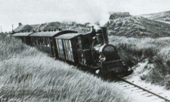 Der Sylter Dünenexpress um 1910