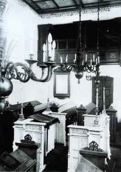 Aufnahme von Friedrich Schröder der Synagoge in Rendsburg von 1934