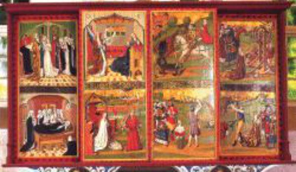 Altarbilder in der Dorfkirche von Grube