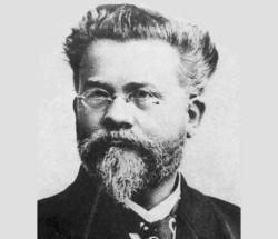 Emil Hyronimus Kurth (1848 bis 1909), erster Direktor der Flensburger Kreisbahn