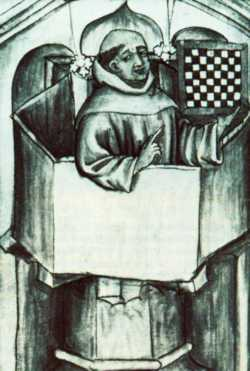 Dominikanermönch auf der Kanzel: Das Wort Gottes in der Stadt zu verkünden, galt als eine der zentralen Aufgaben der Bettelmönche