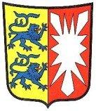 """Während """"Blau-Weiß-Rot"""" erstmals offiziell zur Landesflagge wurde, wurde das für die preußische Provinz entwickelte Wappen übernommen"""