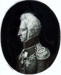 Der dänische König Friedrich VI.
