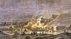 Am 2. und 3. März 1964 brannte Sonderburg nach der Beschießung durch die Preußen.