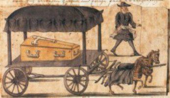 Aus einer Rendsburger Verordnung zur Bestattung von Pestopfern wahrscheinlich Ende 18. Jahrhundert