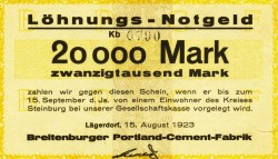 Notgeld 1923