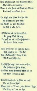 """An den Anfang des """"Quickborn"""" setzte Klaus Groth sein Gedicht """"Uns Modersprak"""", das gleichsam programmatisch für das Niederdeutsche werben sollte"""