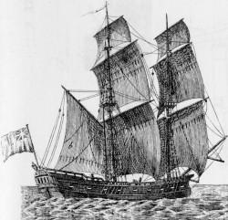 """Mit Briggs, Fregatten und vor allem solchen """"Schnaus"""" wurde die Mittelmeerfahrt aus den Herzogtümern betrieben"""