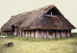 Solche Höfe standen ursprünglich auf den Warften (Rekonstruktion)