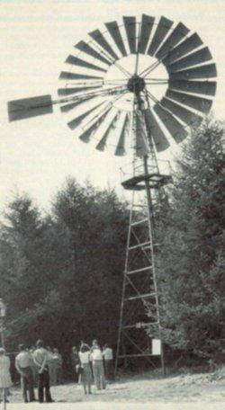 Ein Rotor der Firma Köster Heide. Das Bild entstand anläßlich der Aufstellung im Schleswig-Holsteinischen Freilichtmuseum Molfsee