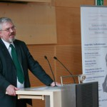 Prof. Dr. Enno Bünz bei seinem Plädoyer für regionale Geschichte