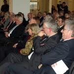 Fröhliche Spannung im vollbesetzten Schleswig-Holstein-Saal des Landeshauses