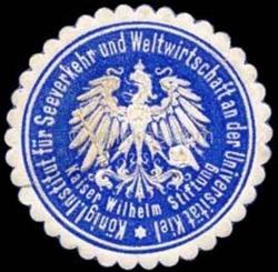 Das Siegel des neuen Institutes