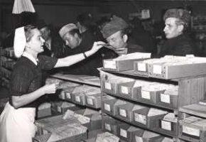 Die Registrierung, das Sammeln der sich Suchenden war am Anfang die zentrale Leistung des Suchdienstes